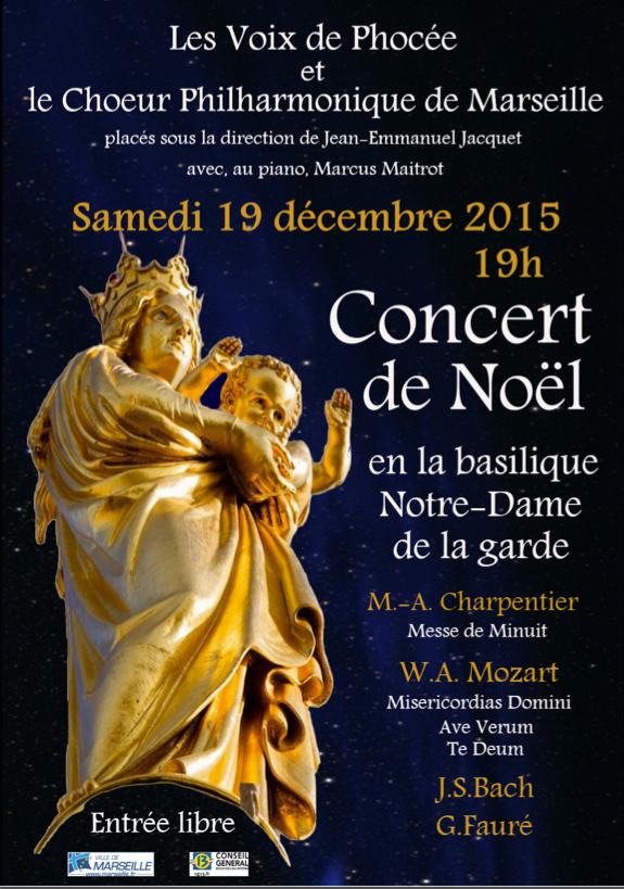 Affiche concert NDDG 2015